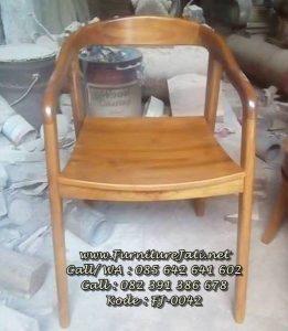 Model Kursi Cafe Minimalis Jati Terbaru