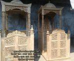 Mimbar Masjid Ukiran Kayu Jati Terlaris