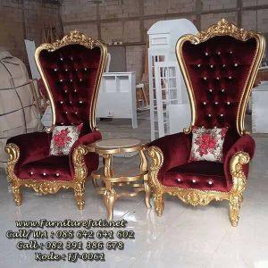 Sofa Syahrini Mewah Gold Leaf