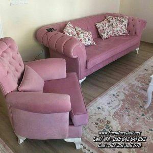 Kursi Sofa Minimalis Tamu Modern Mewah