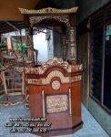 Jual Mimbar Masjid Simple Ukiran Jepara