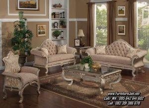 Kursi Tamu Sofa Mewah Ukiran Leonardo