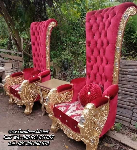 Kursi Sofa Ukir Kayu Mewah Princess Andini