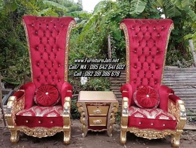 Kursi Sofa Ukir Mewah Set Teras Raja