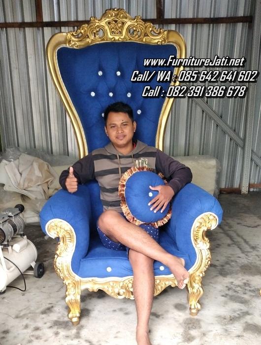 Kursi Sofa Ukir Mewah Sultan Gold